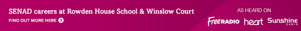 SENAD careers at Rowden House School and Winslow Court