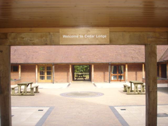 Texas Transition Centre Entrance