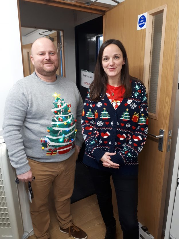 Bladon Save the Children Christmas Jumper Day