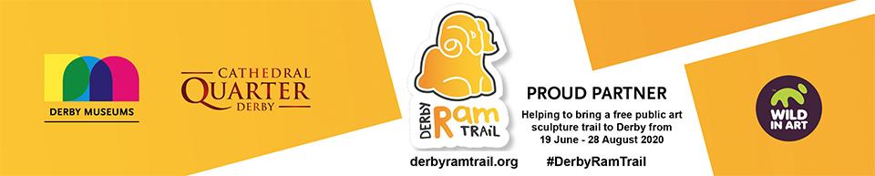 Proud partner of Cathedral Quarter Derby #DerbyRamTrail